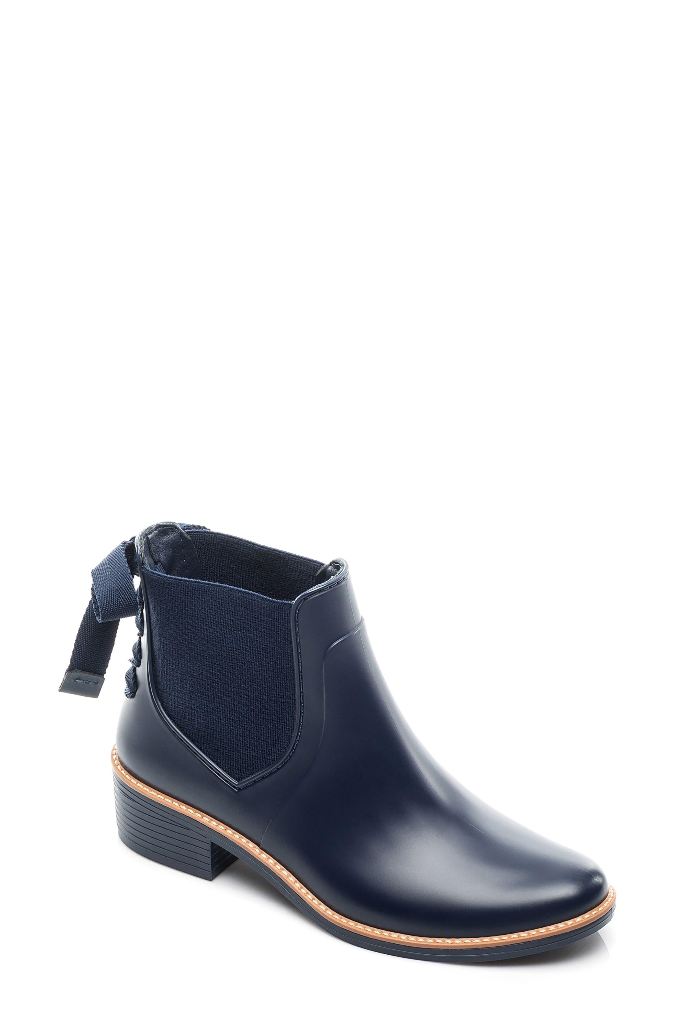 Bernardo Paxton Waterproof Rain Boot, Blue