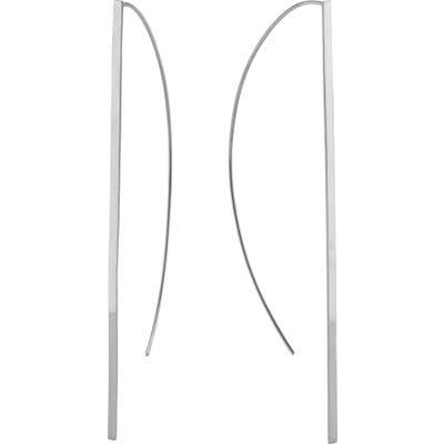 Lana Jewelry Long P-Hoop Earrings