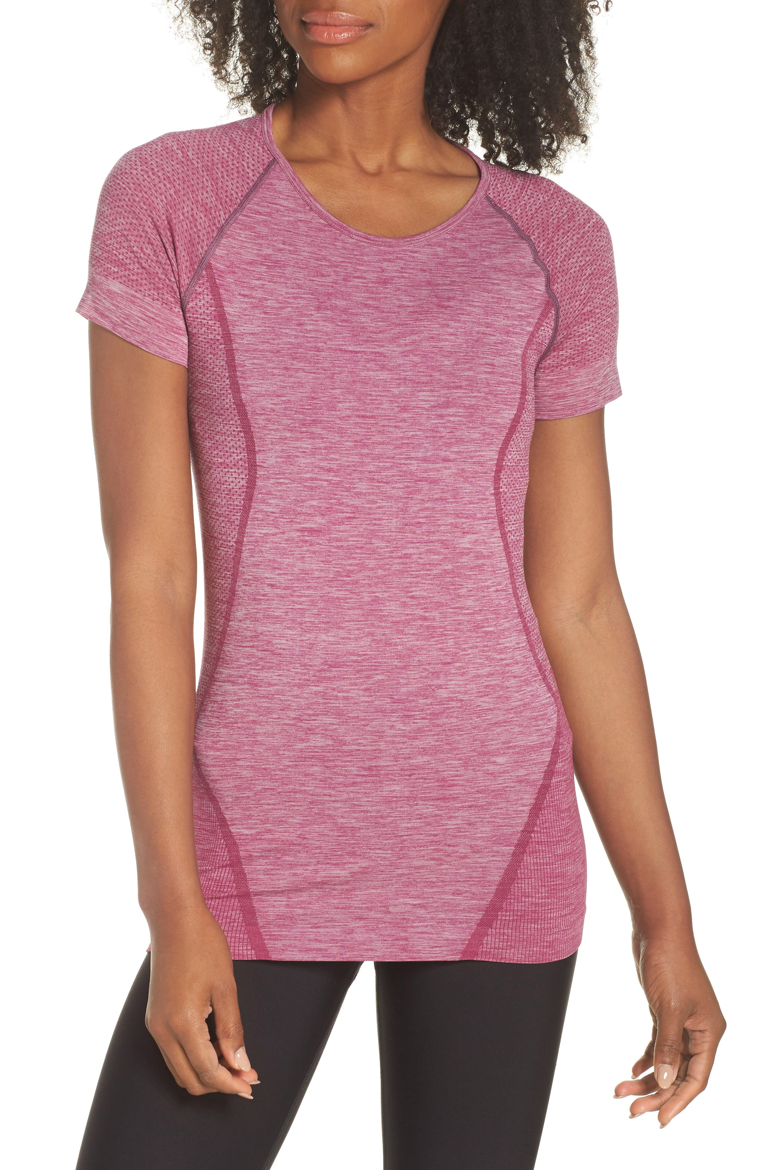 ,                             Stand Out Seamless Training Tee,                             Main thumbnail 26, color,                             501