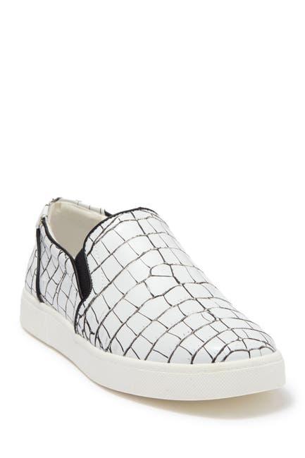 Image of CIRCUS BY SAM EDELMAN Duncan Croc Embossed Slip-On Sneaker