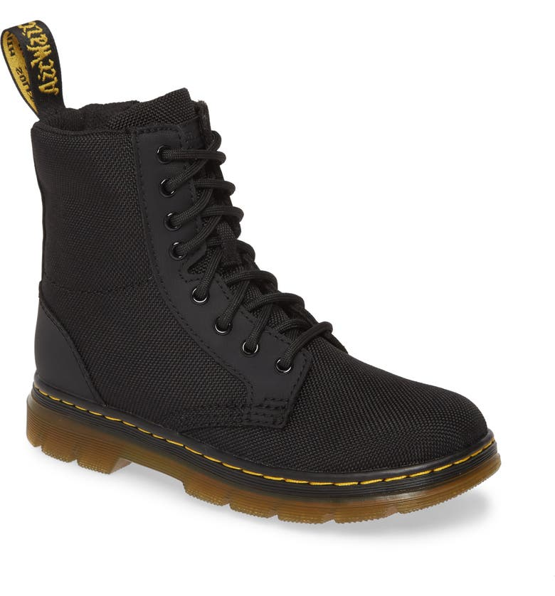 DR. MARTENS Combs Junior Boot, Main, color, 001
