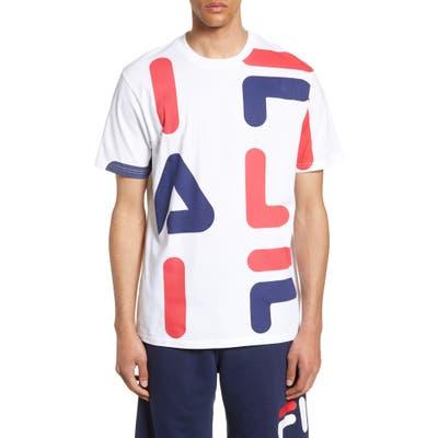 Fila Bennett Logo T-Shirt, White