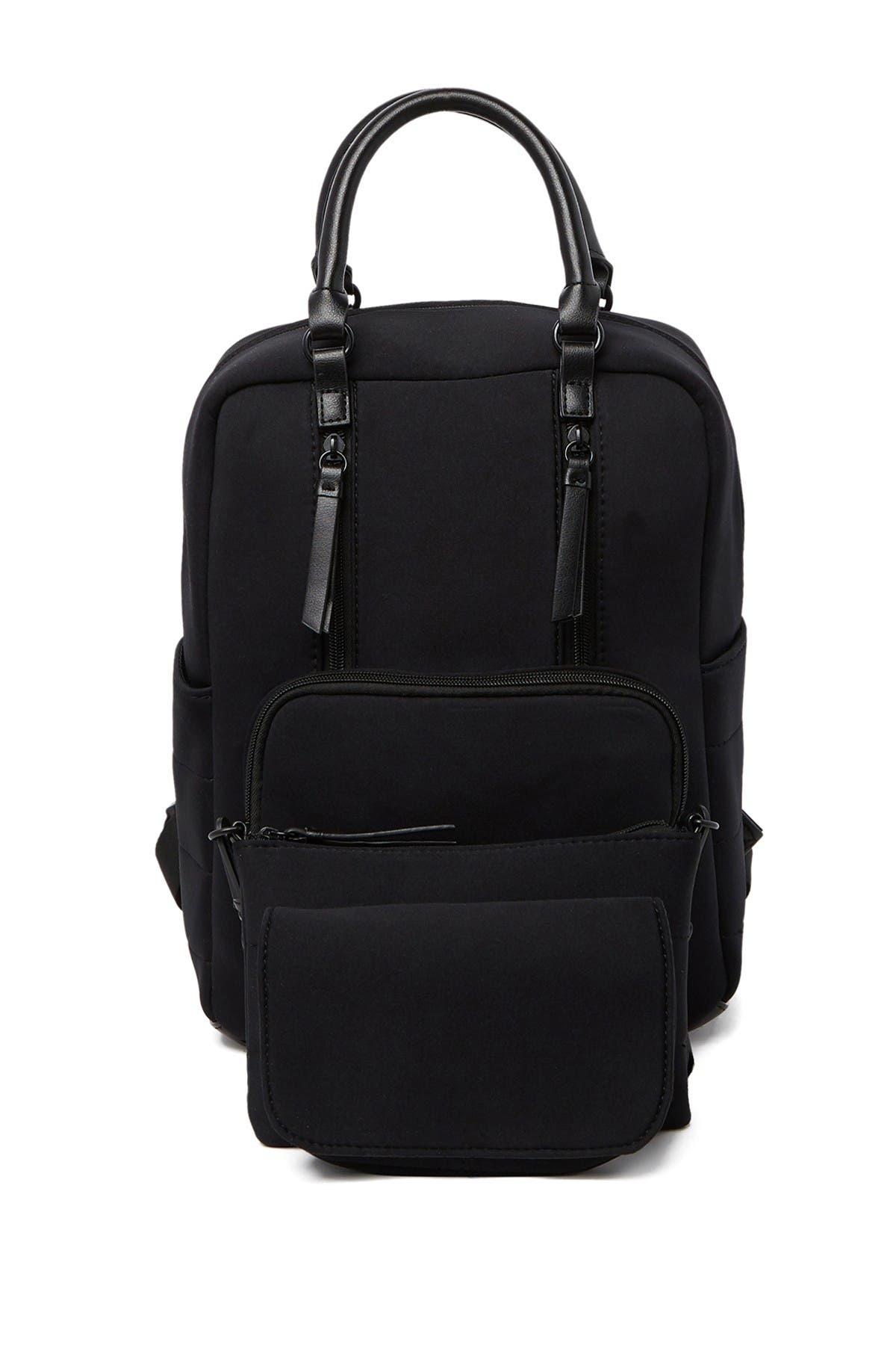 Image of Madden Girl 2 For 1 Neoprene Backpack & Crossbody
