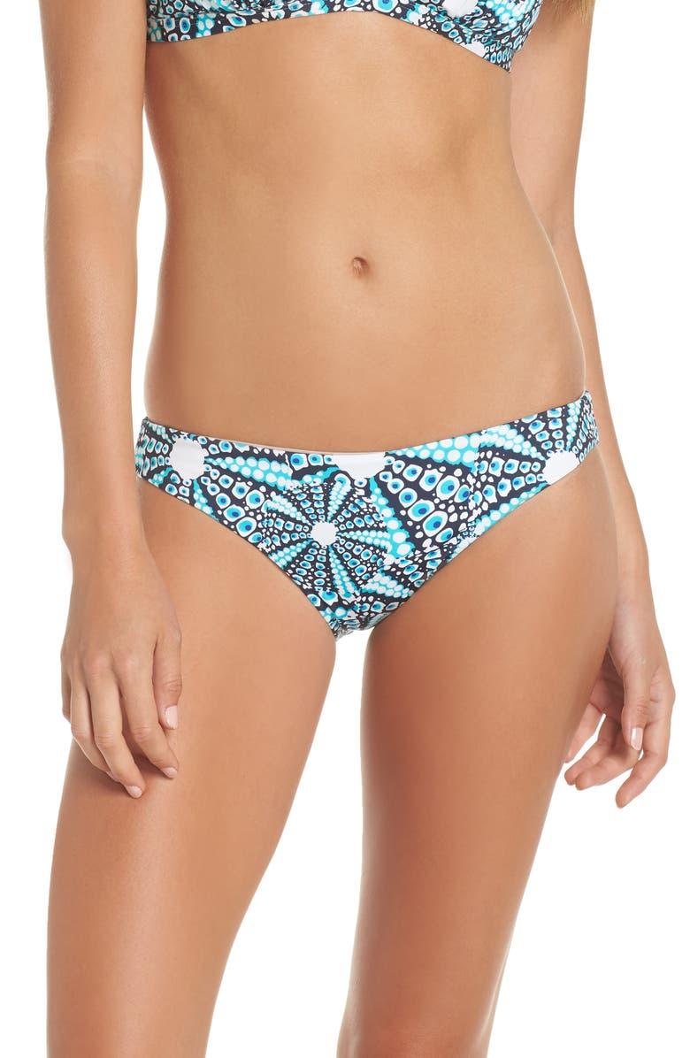 VILEBREQUIN Oursinade Hipster Bikini Bottoms, Main, color, BLEU MARINE