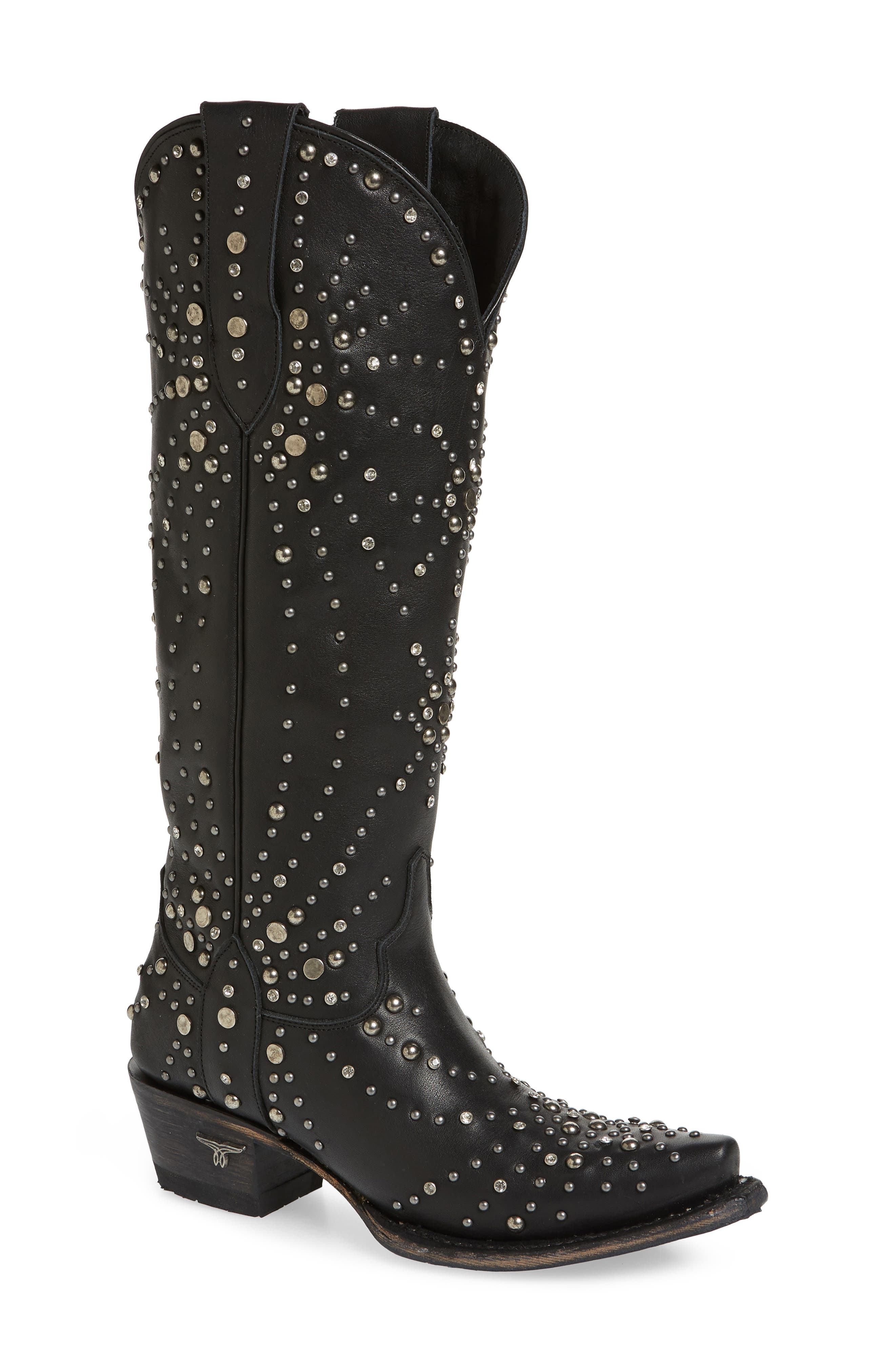 Sparks Fly Studded Western Boot