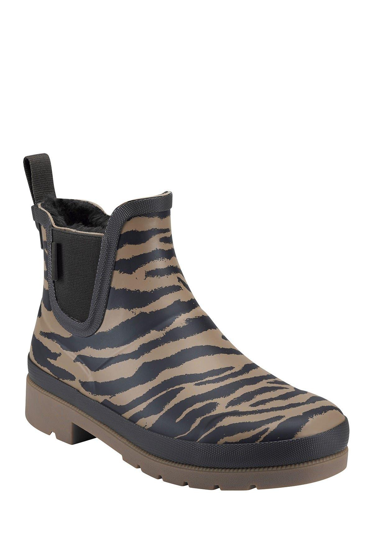 Image of Tretorn Lina 2 Faux Shearling Lined Rain Boot