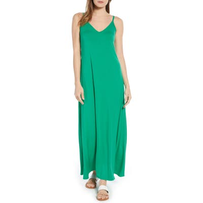 Gibson X Living In Yellow Hazel Casual Knit Maxi Dress, Green (Regular & Petite) (Nordstrom Exclusive)