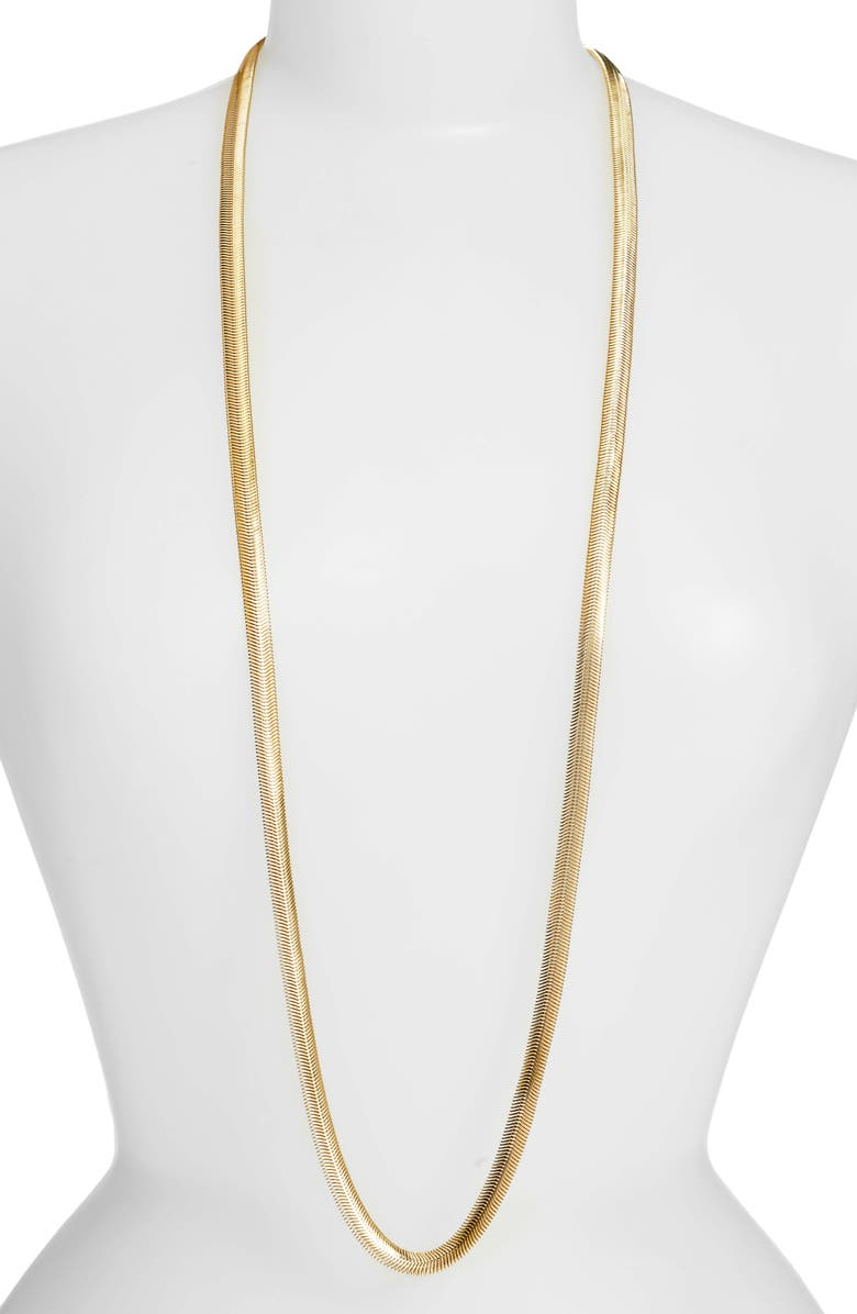 LISA FREEDE Cooper Necklace, Main, color, GOLD
