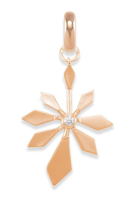 Image of Kendra Scott Geometric Flower Charm Necklace