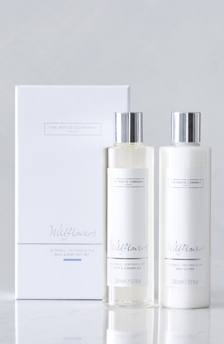 THE WHITE COMPANY Wildflowers Bath & Body Set, Main, color, 100
