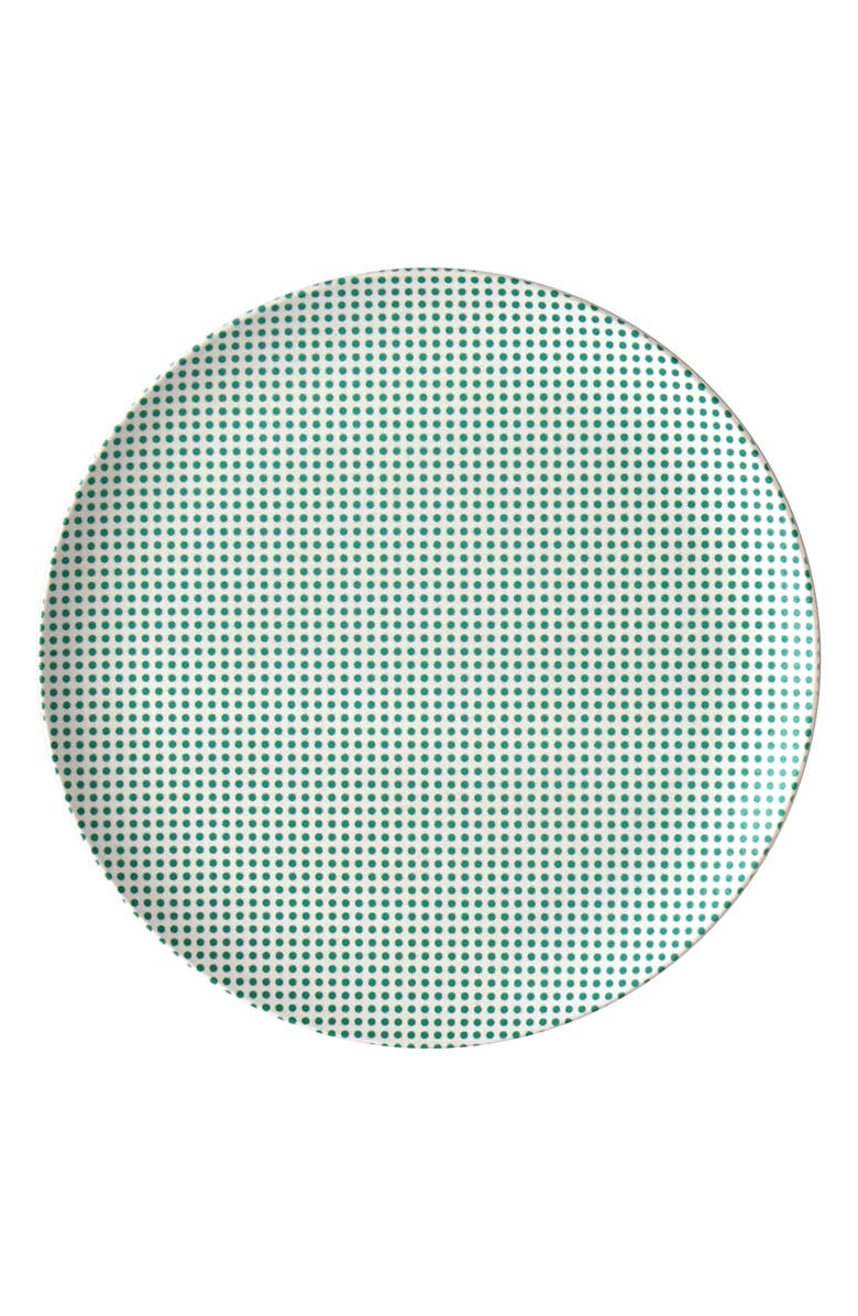 XENIA TALER Popdot Set of 4 Side Plates, Main, color, TEAL