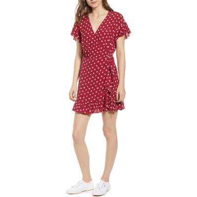 Rails Koreen Wrap Dress, Red