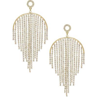 Ettika Crystal Fringe Earrings