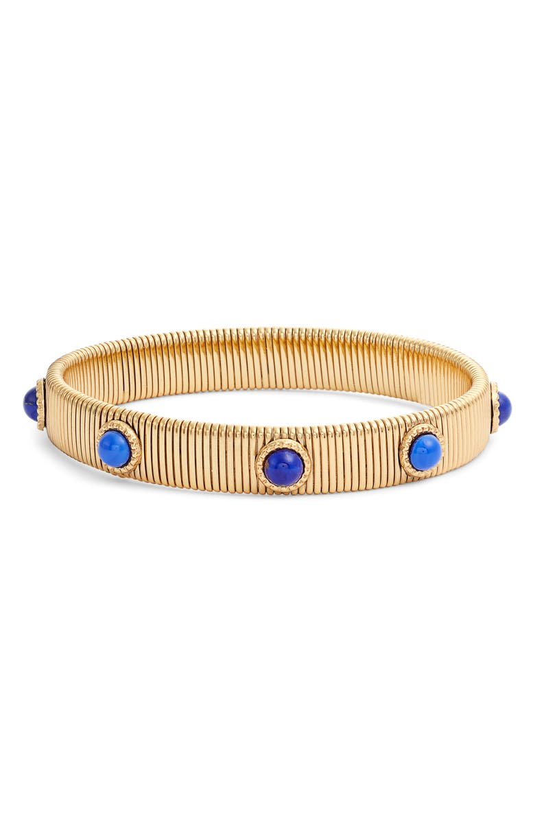 GAS BIJOUX Strada Bracelet, Main, color, BLUE