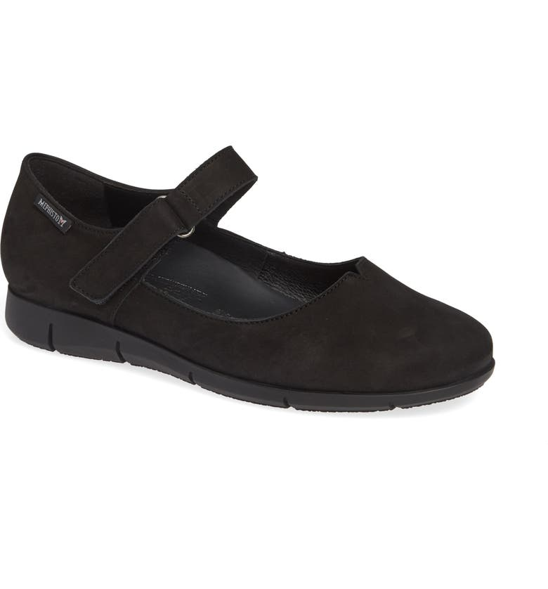 MEPHISTO Jenyfer Mary Jane Shoe, Main, color, BLACK