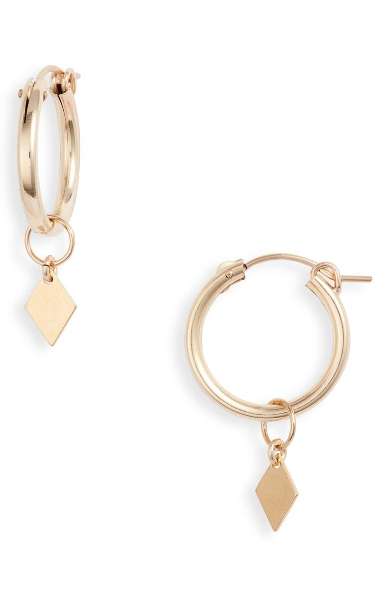 SET & STONES Asher Drop Earrings, Main, color, GOLD