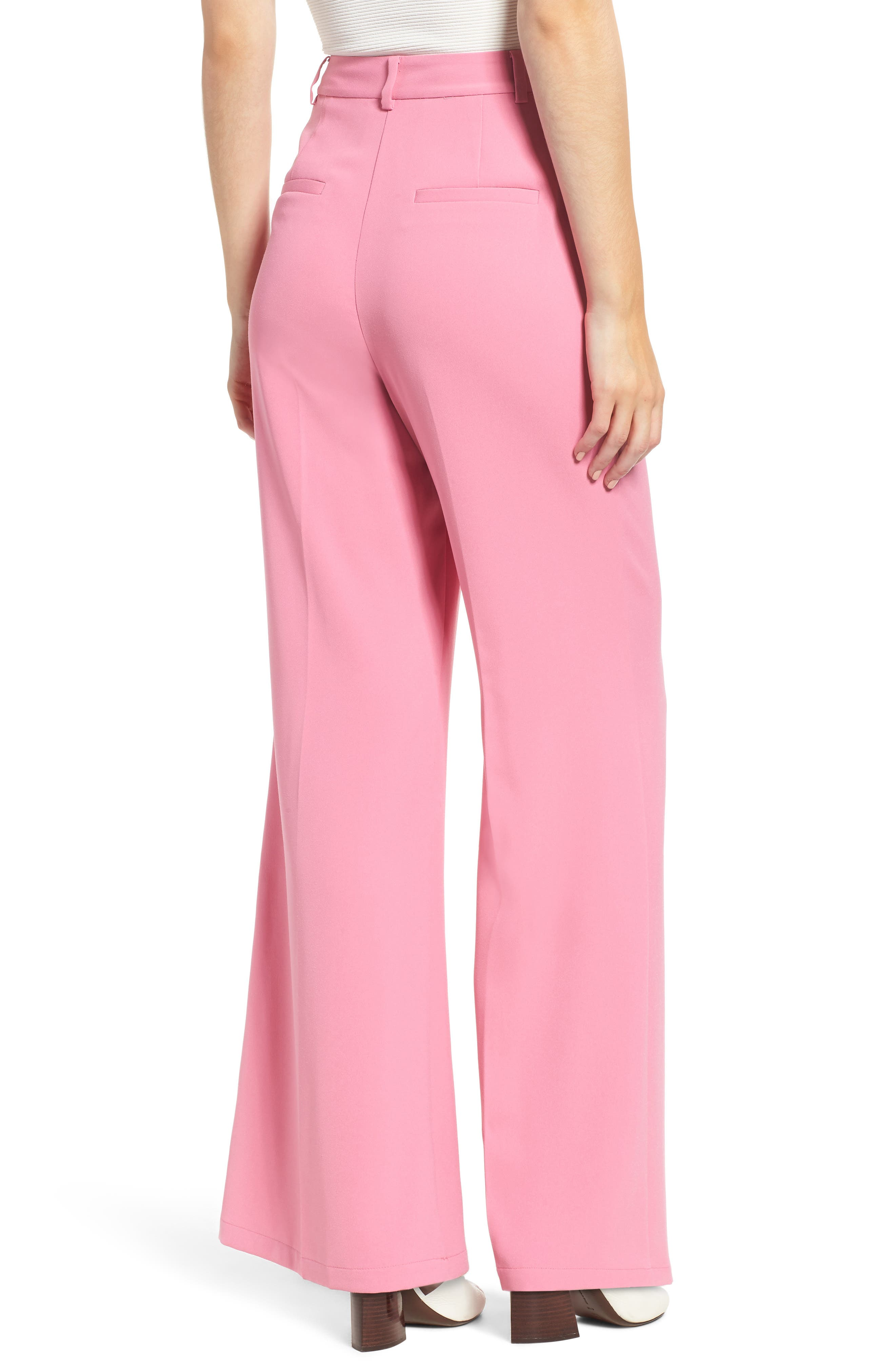 ,                             High Waist Flare Pants,                             Alternate thumbnail 31, color,                             660