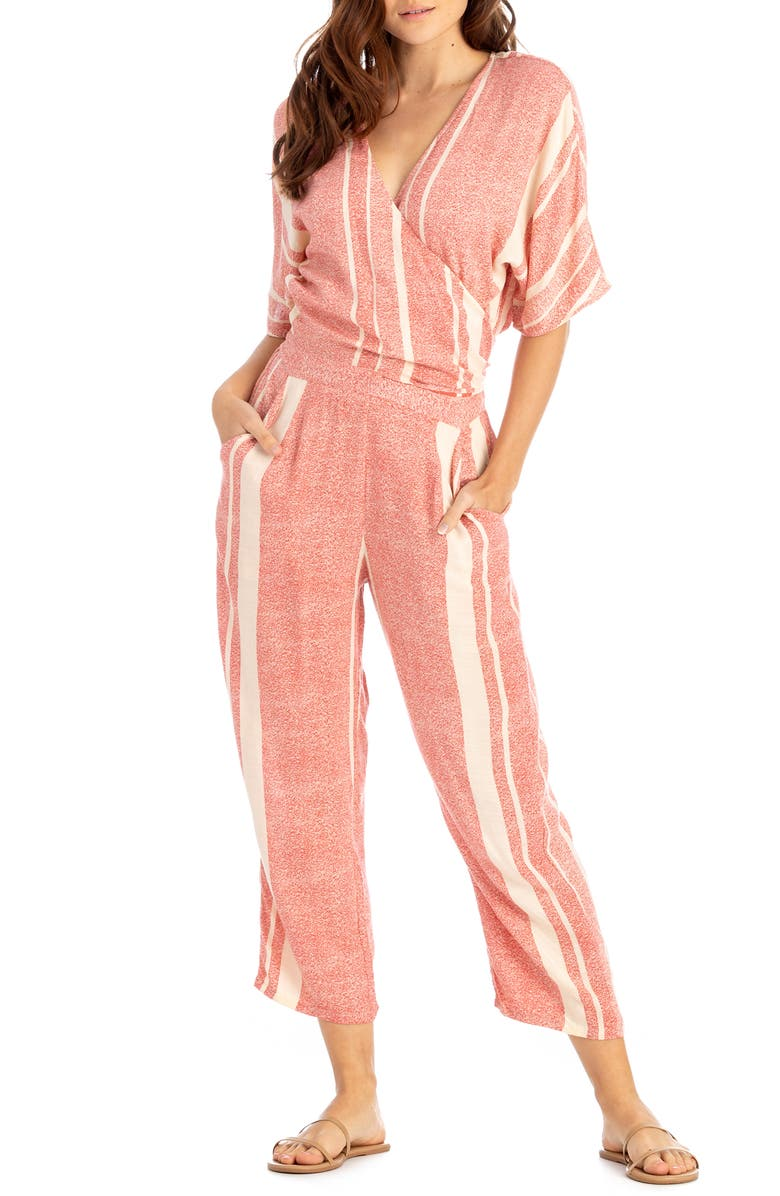 TAVIK Bailey Stripe Cover-Up Jumpsuit, Main, color, 600
