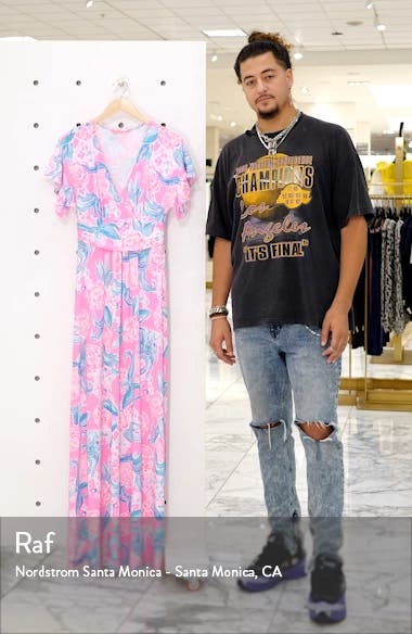 Jessi Flutter Maxi Dress, sales video thumbnail