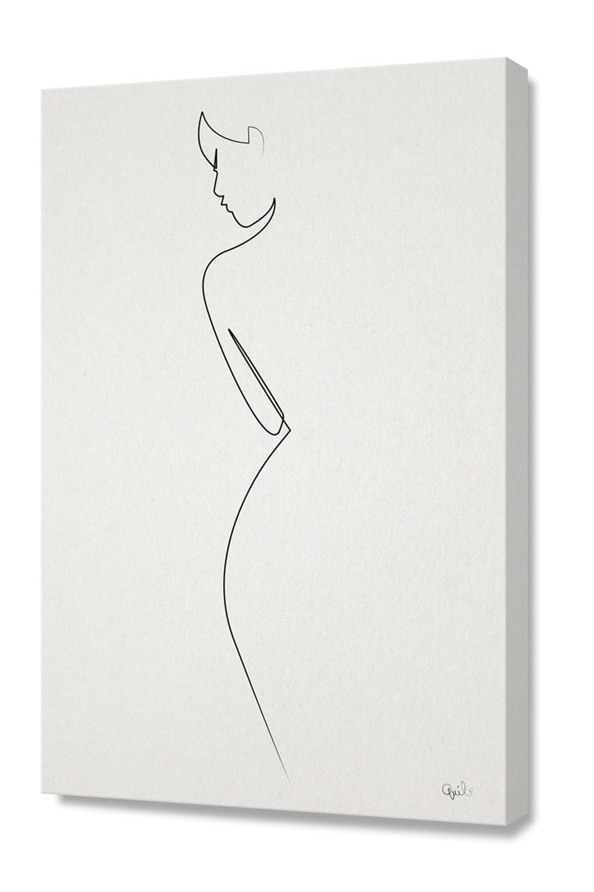 Image of Curioos Small One Line Nude by Quibe