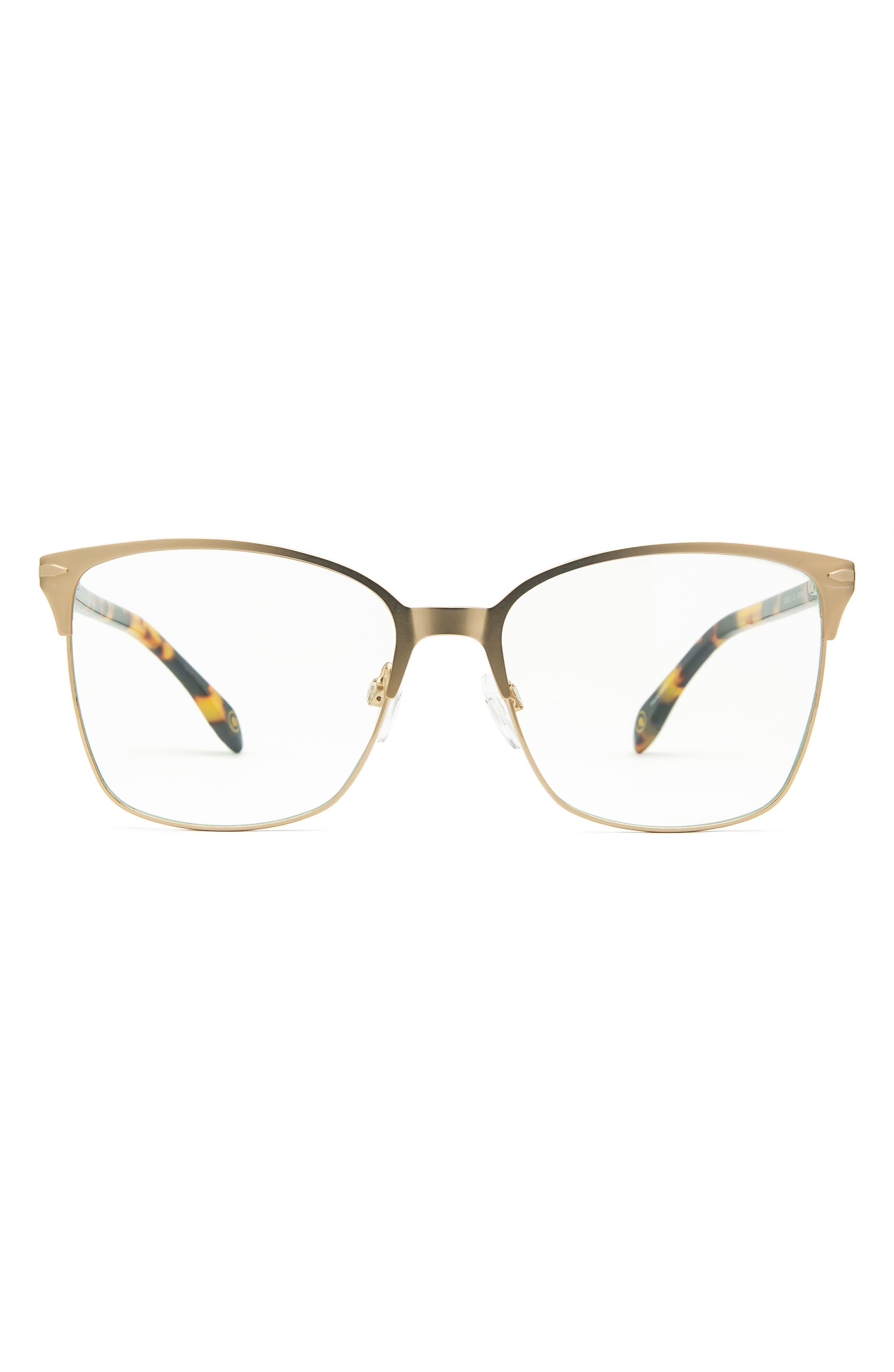 54mm Cat Eye Blue Light Blocking Glasses