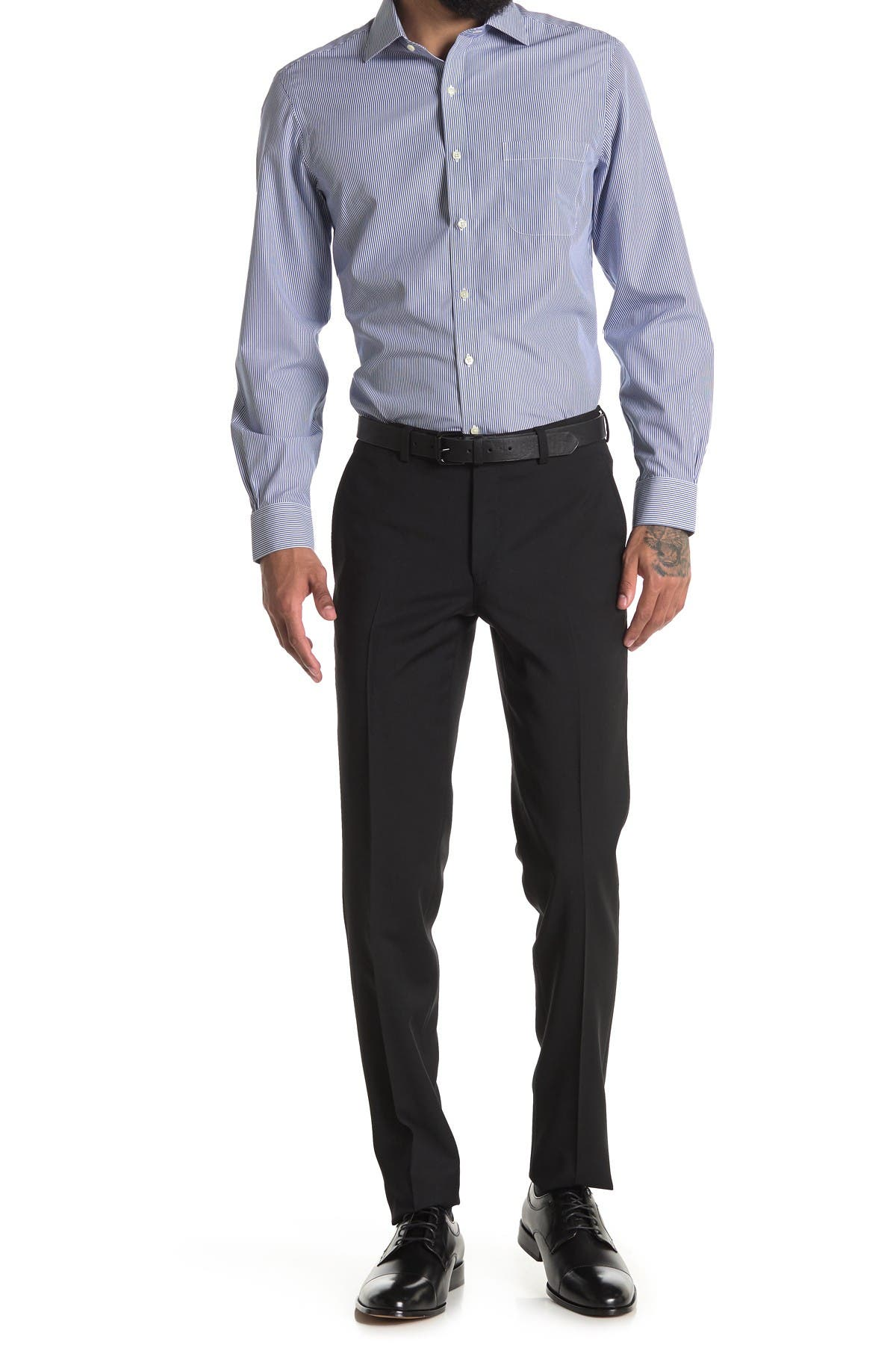 Image of Ted Baker London Jarrett Flat Front Trouser
