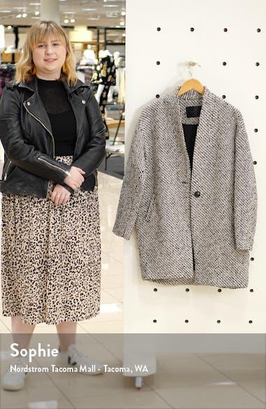 Say Anything Tweed Coat, sales video thumbnail