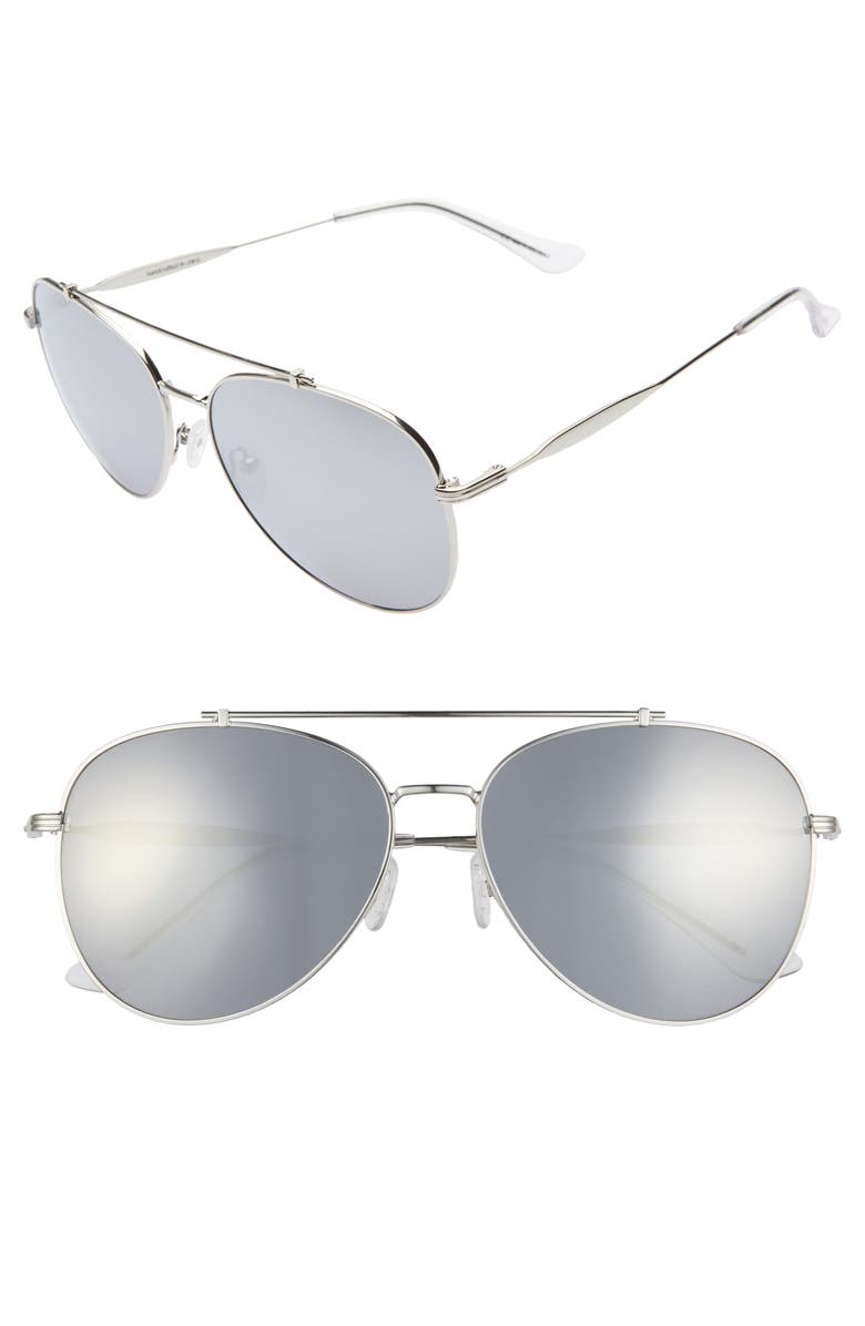 BP. 60mm Aviator Sunglasses, Main, color, 040