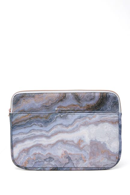 Image of MYTAGALONGS Stella Patterned Laptop Sleeve