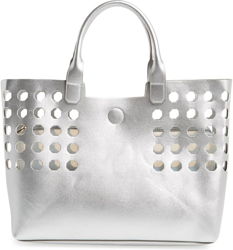 POVERTY FLATS BY RIAN Perforated Tote, Main, color, 040