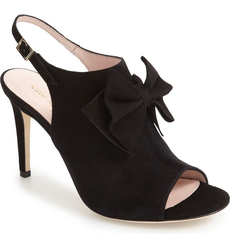 KATE SPADE NEW YORK ilyse slingback sandal, Main, color, 001