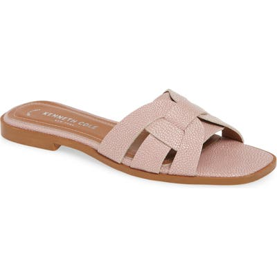 Kenneth Cole New York Austine Slide Sandal, Pink