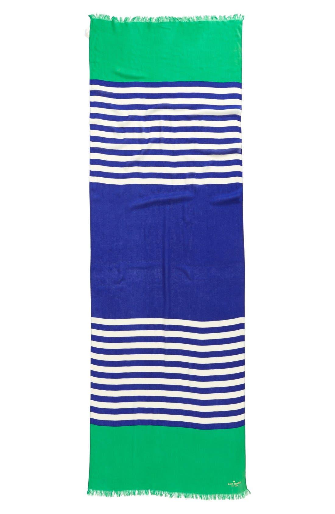 ,                             'six month stripe' scarf,                             Alternate thumbnail 5, color,                             400