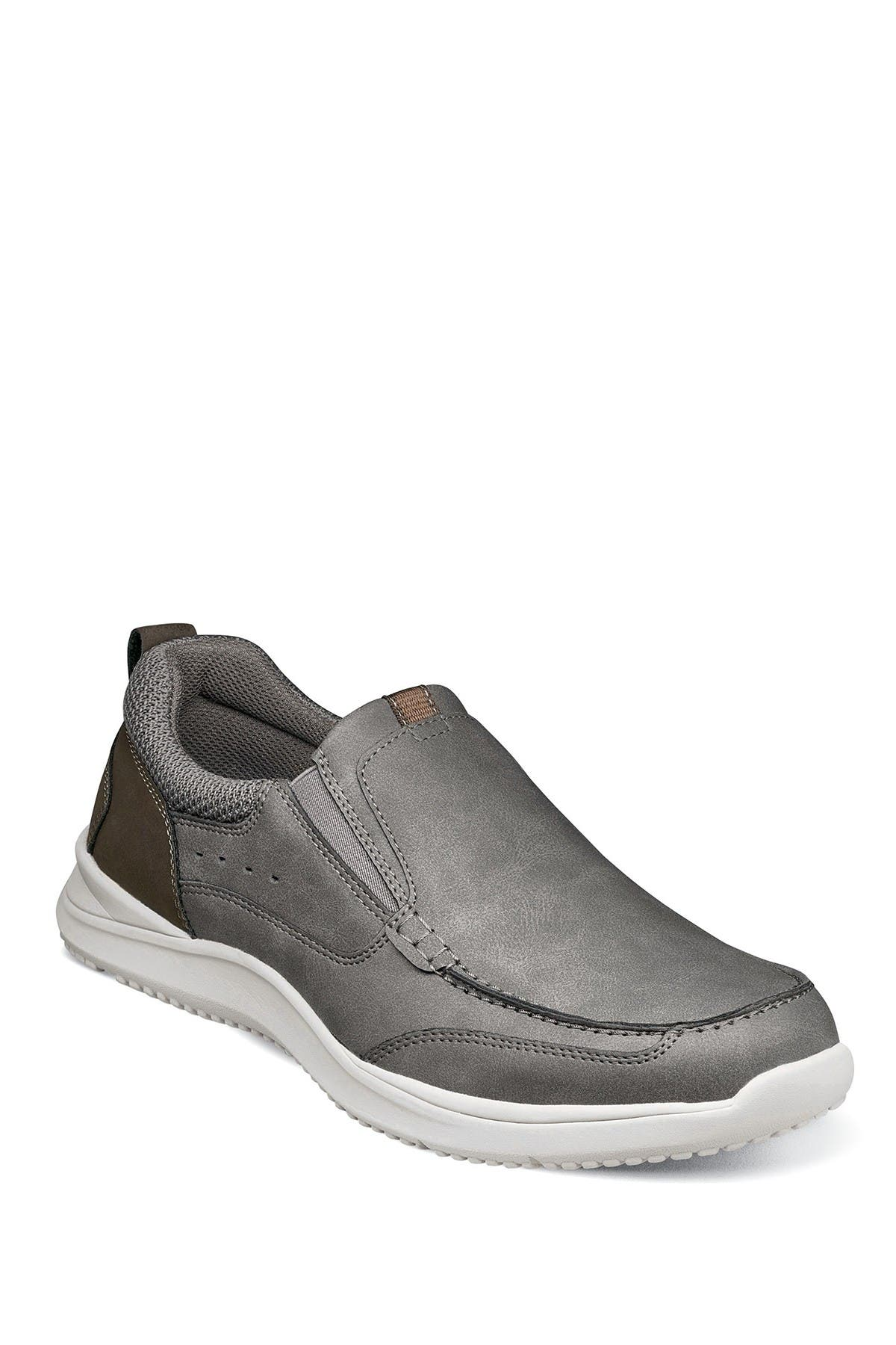 Image of NUNN BUSH Conway Moc Toe Slip-On Sneaker - Wide Width Available