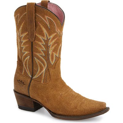 Lane Boots X Junk Gypsy Dirt Road Dreamer Western Boot- Brown