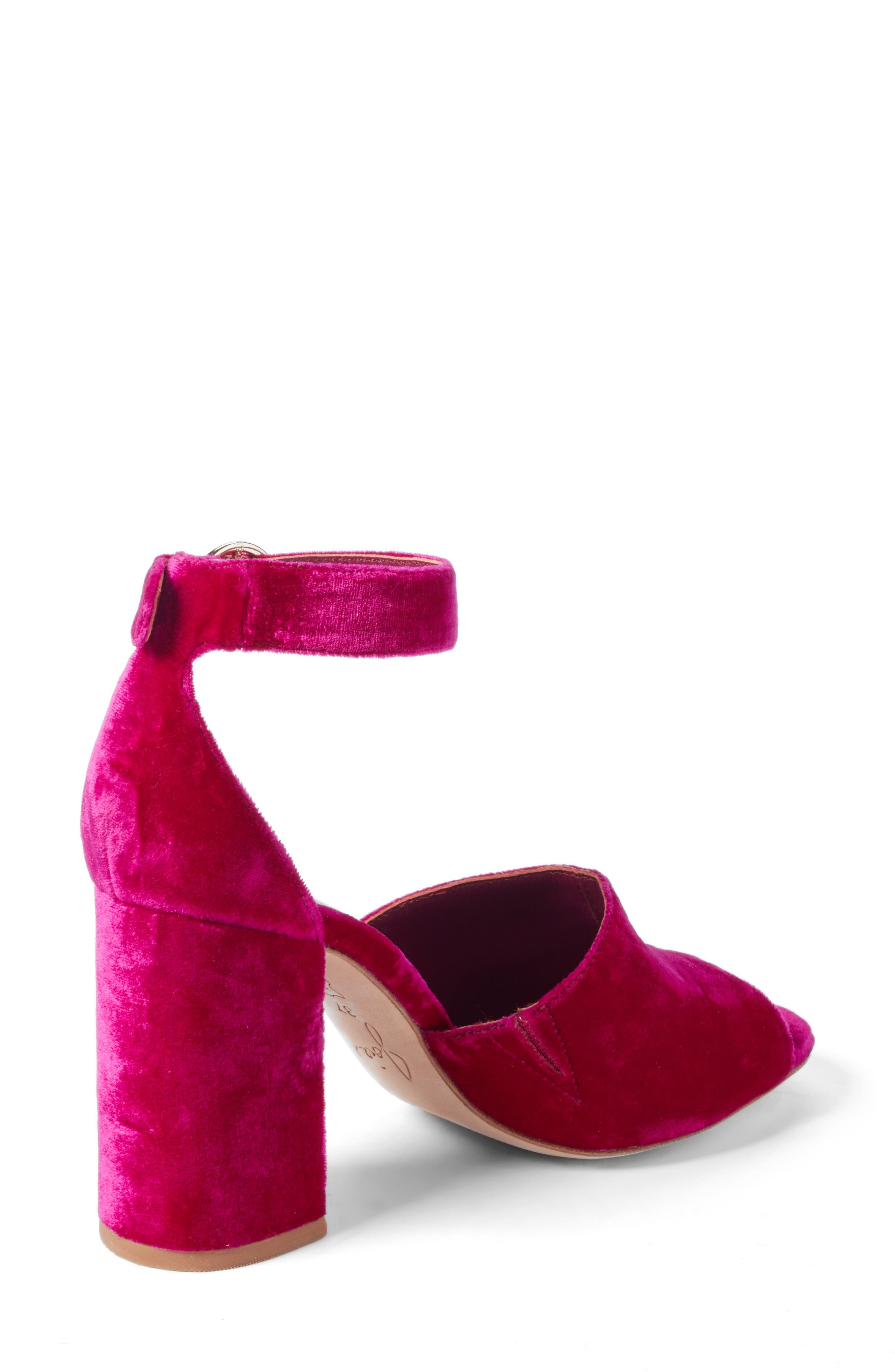 ,                             Lahoma Block Heel Sandal,                             Alternate thumbnail 8, color,                             644