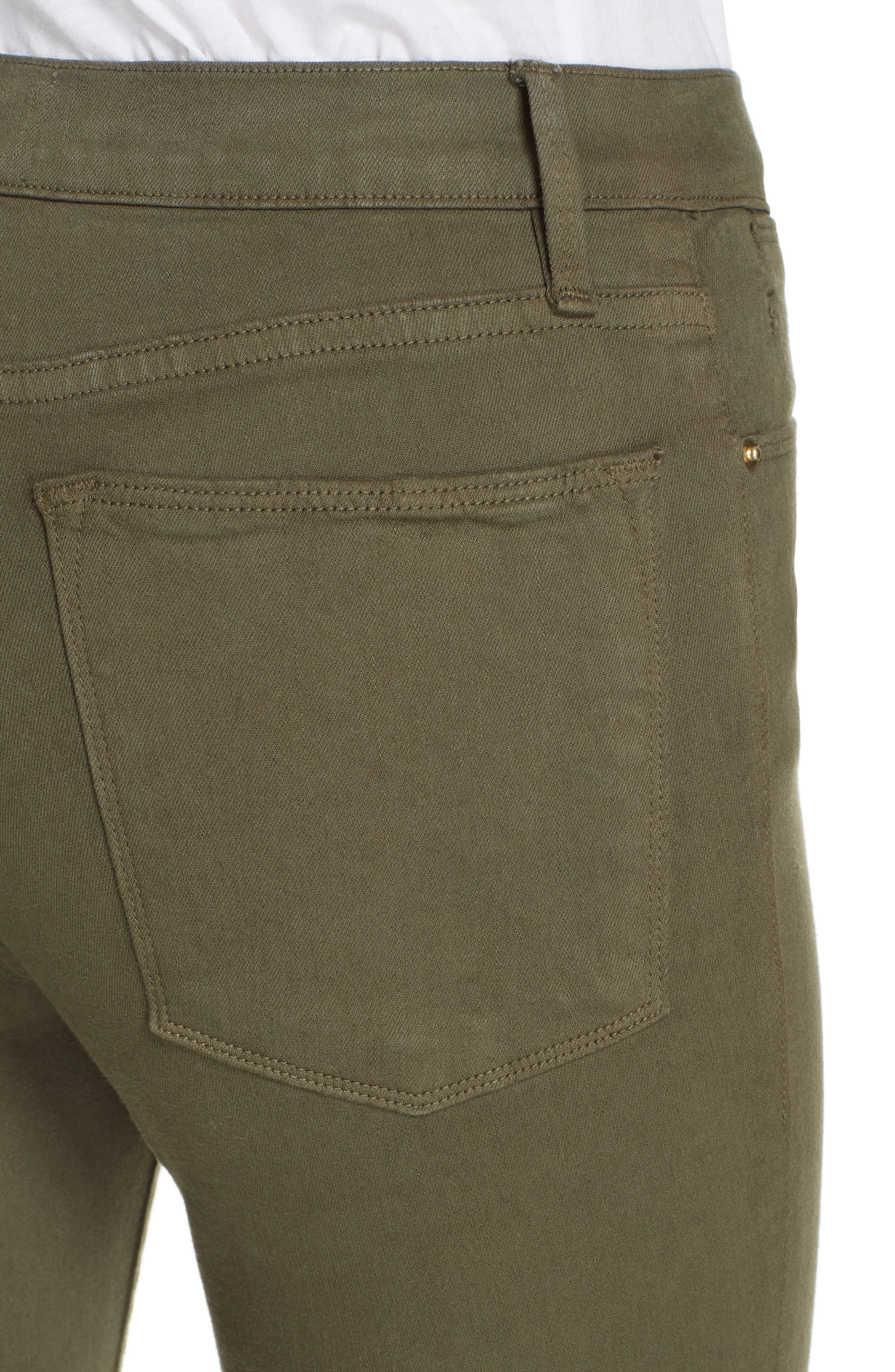 ,                             Le High Raw Hem Ankle Skinny Jeans,                             Alternate thumbnail 17, color,                             301