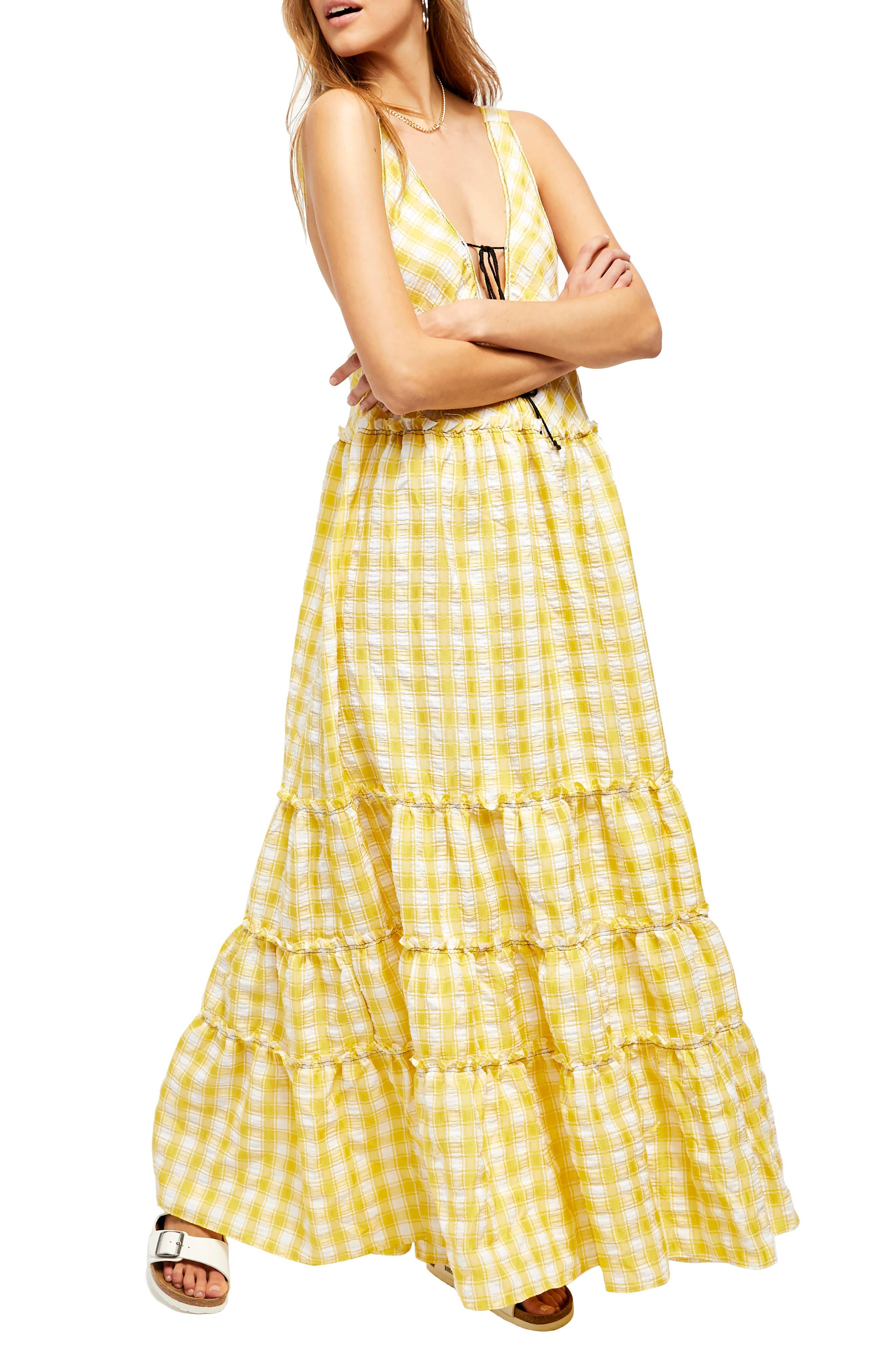 Image of Free People Beach Club Sleeveless Maxi Dress