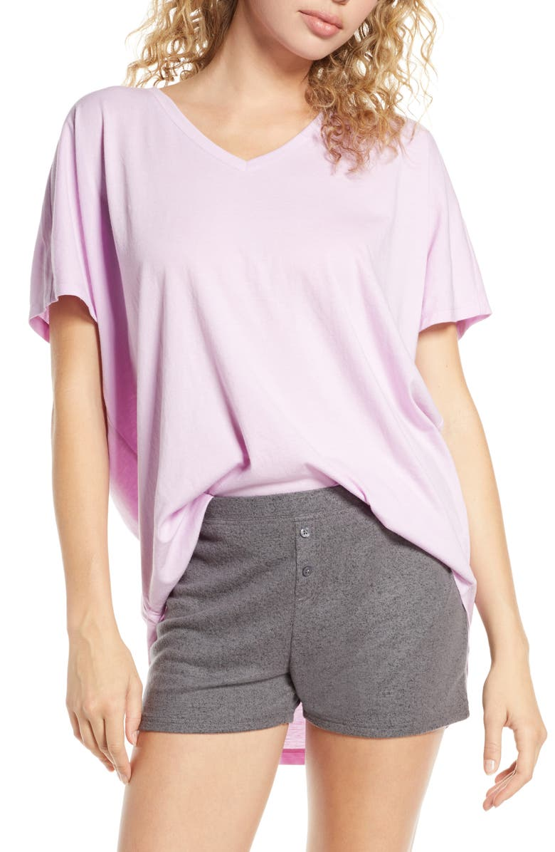 BP. Sleepy Lounge Tee, Main, color, PINK BOUQUET