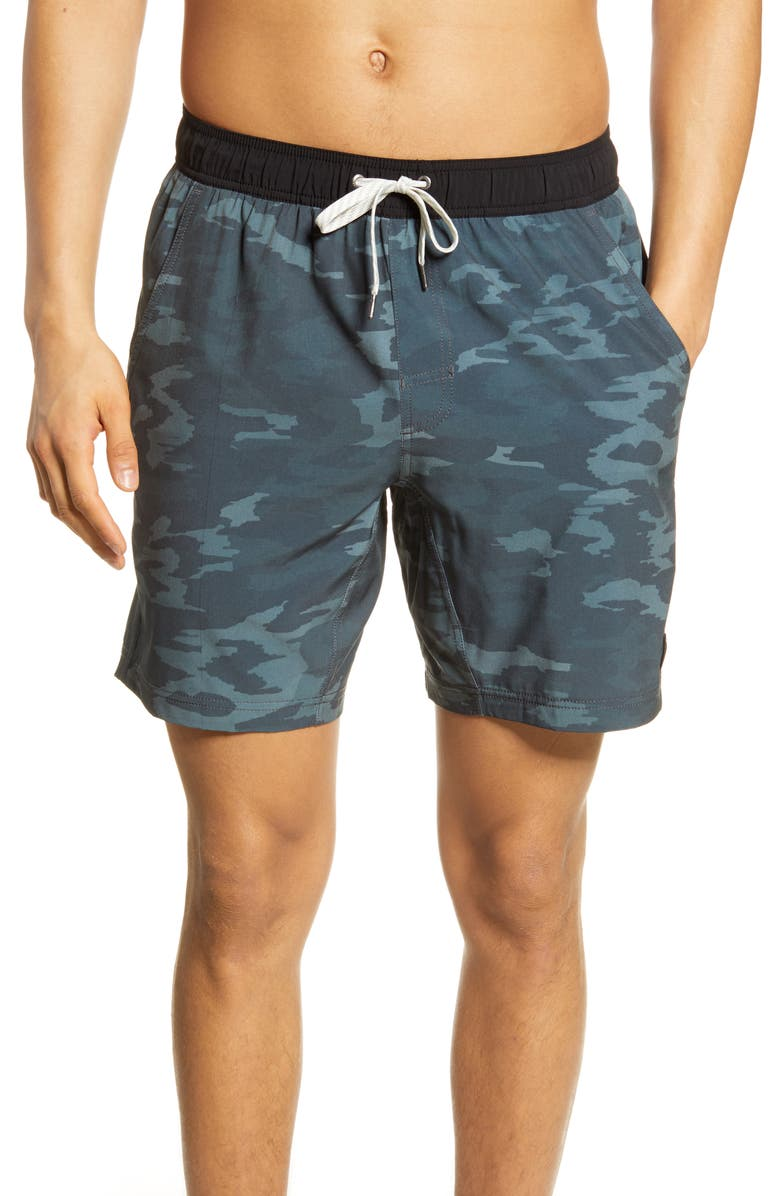VUORI Kore Shorts, Main, color, PATINA WATERCOLOR CAMO