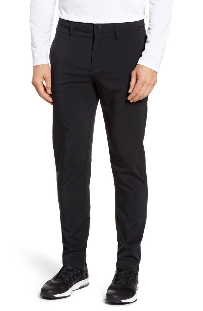 ZELLA Hybrid Tech Pants, Main, color, BLACK