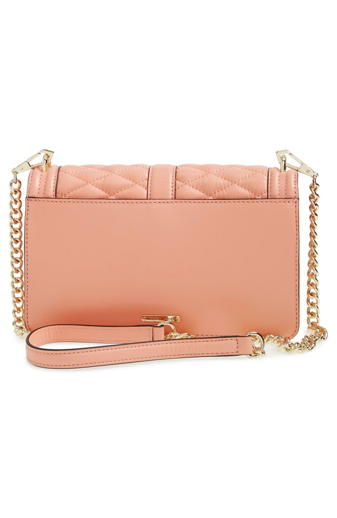 ,                             Love Leather Crossbody Bag,                             Alternate thumbnail 162, color,                             950