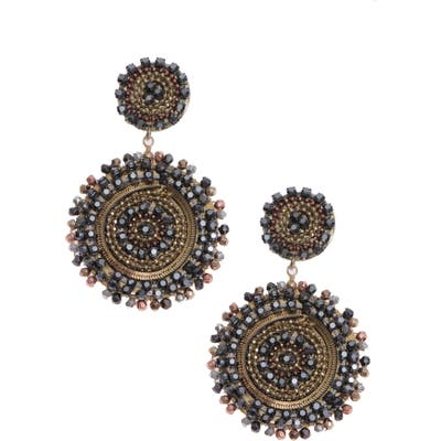 Nakamol Design Beaded Disc Earrings