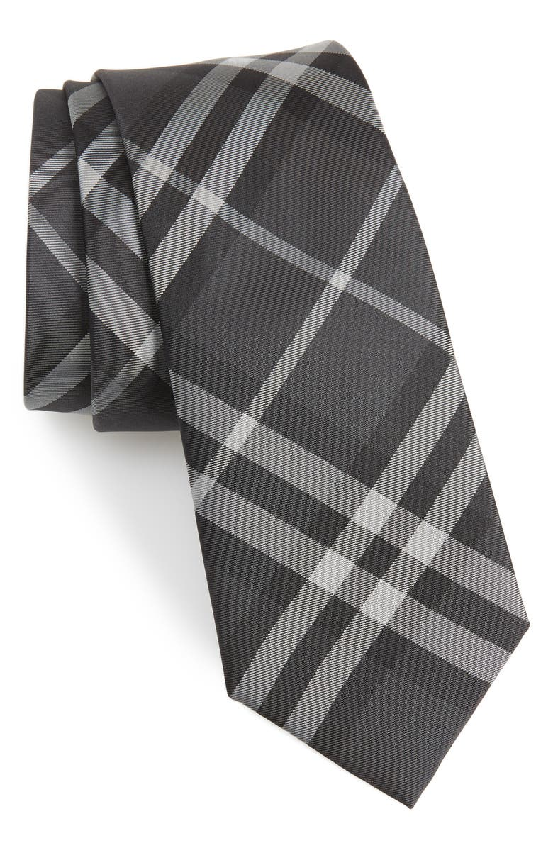 BURBERRY Manston Silk Tie, Main, color, 020