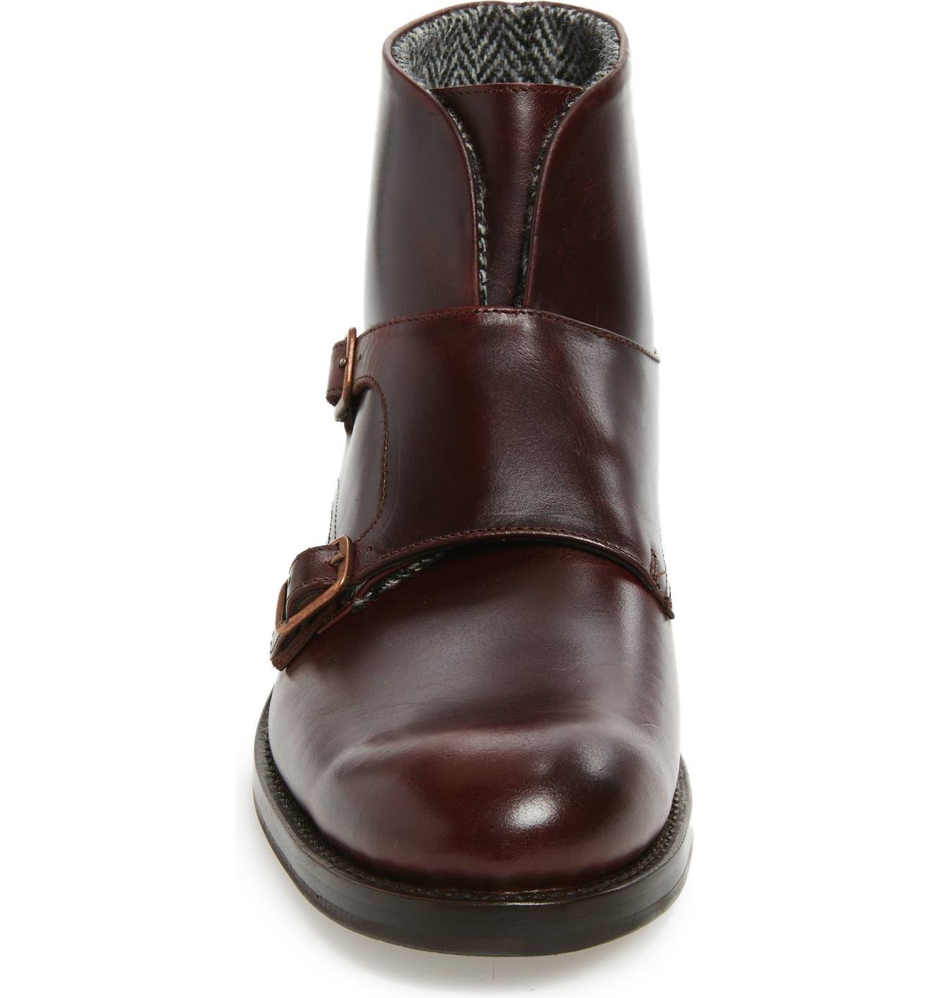 0e5b7e6582b Wolverine Myles Double Monk Strap Boot (Men) | Nordstrom
