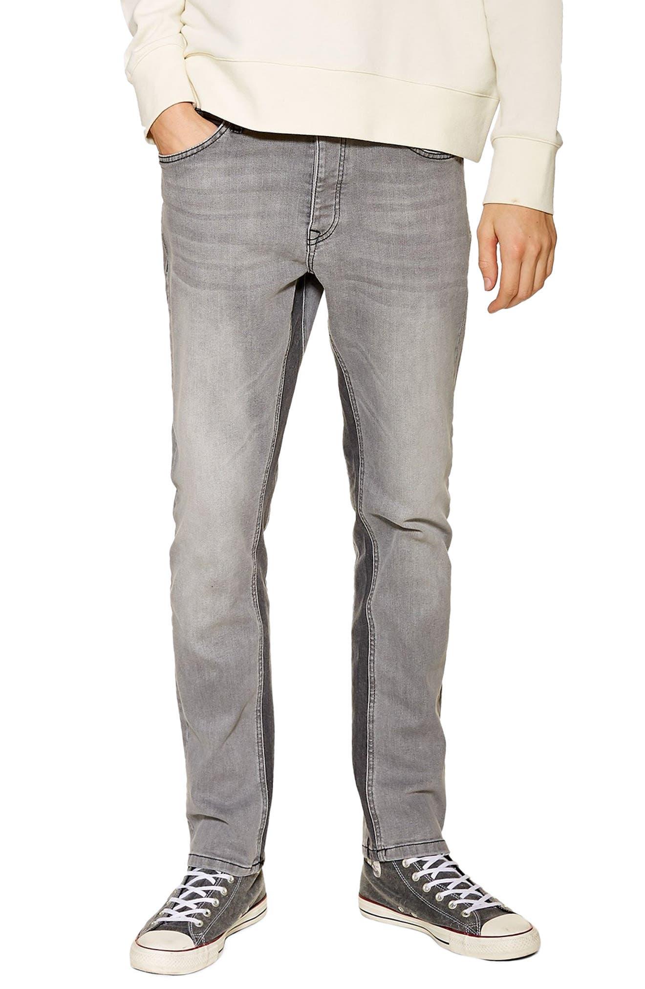 Slim Fit Panel Jeans, Main, color, 020
