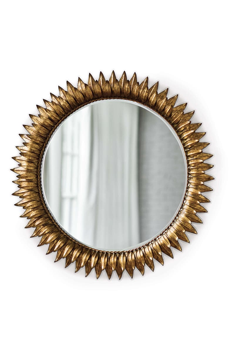 REGINA ANDREW Sunflower Wall Mirror, Main, color, 710