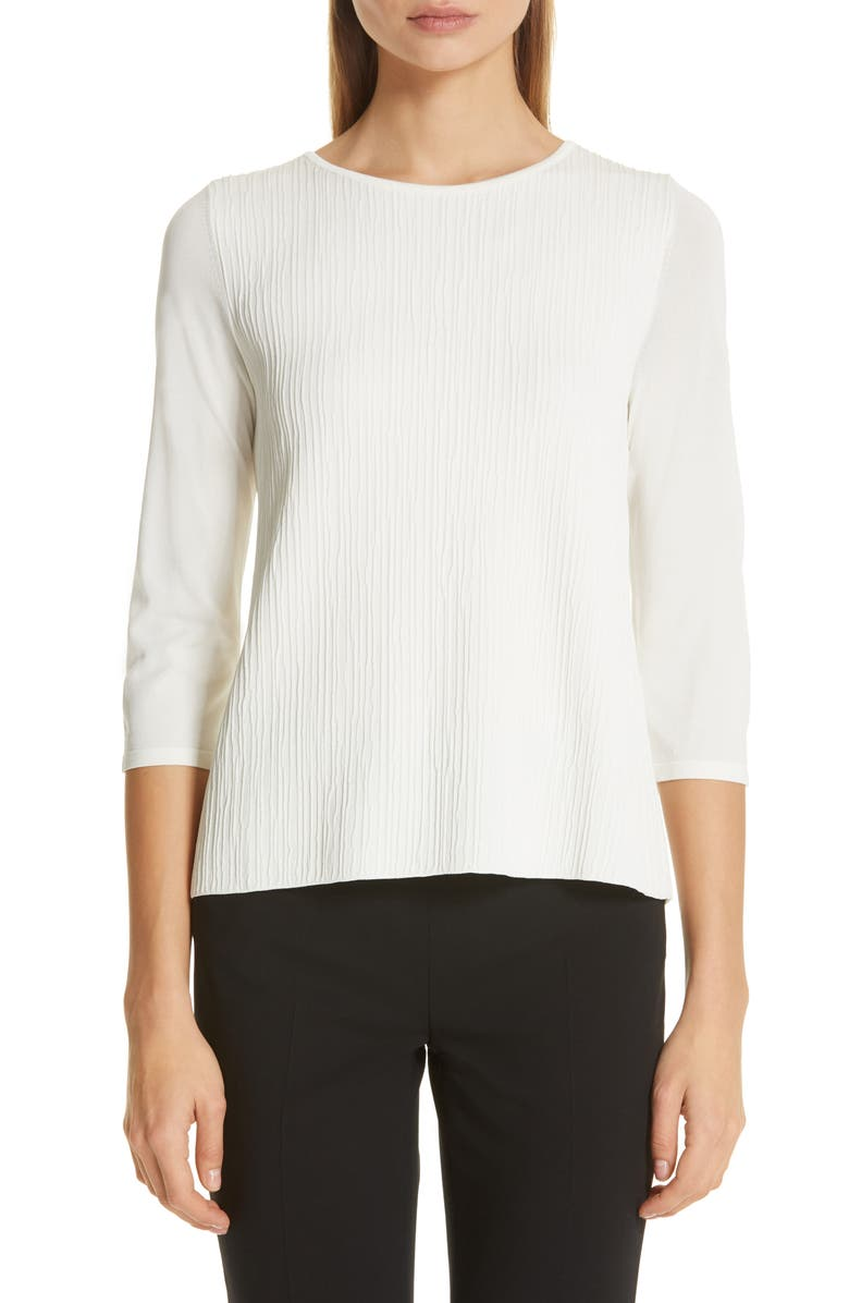 MAX MARA Circe Sweater, Main, color, IVORY