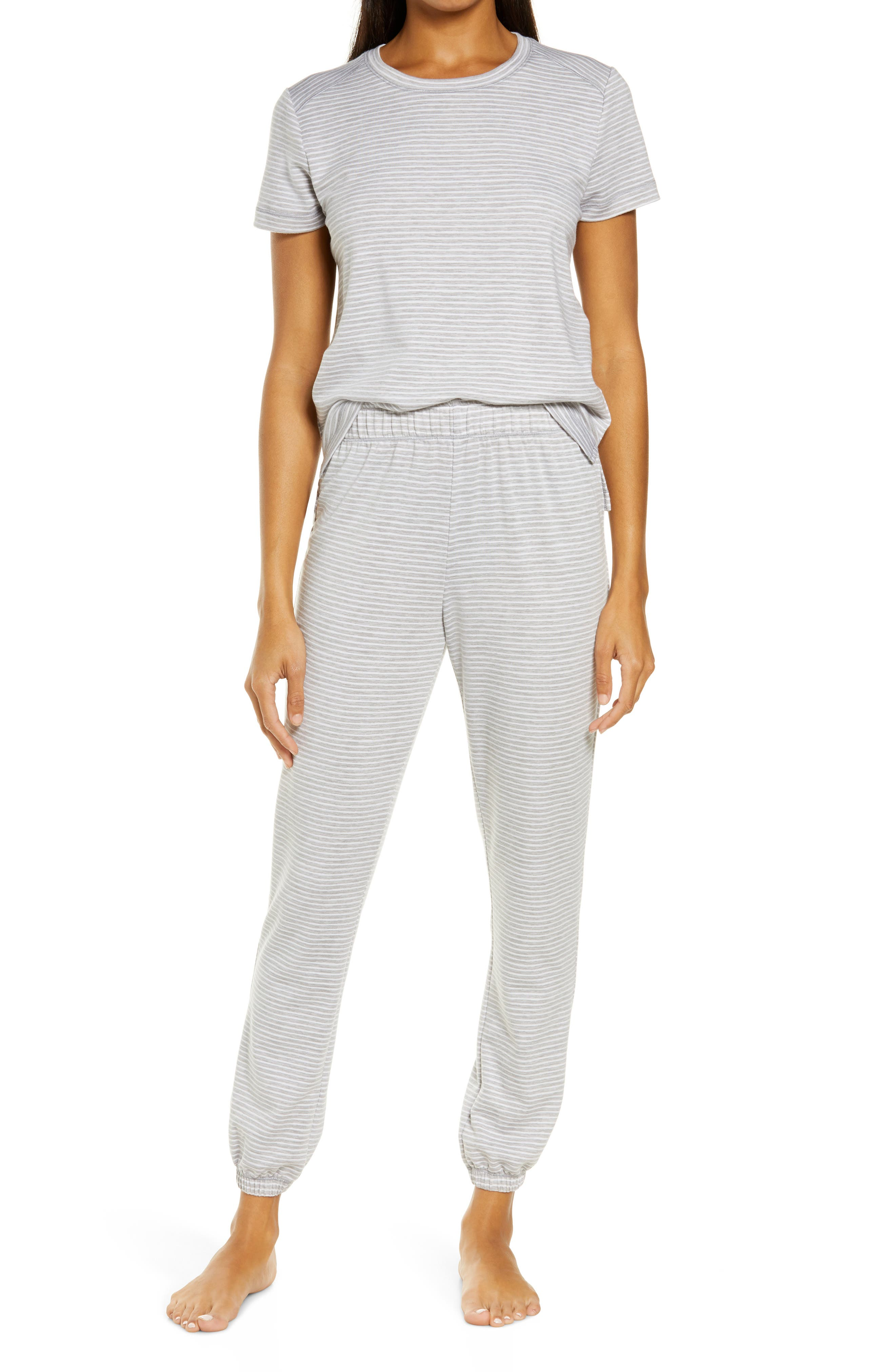 Stripe Women's Jogger Pajamas