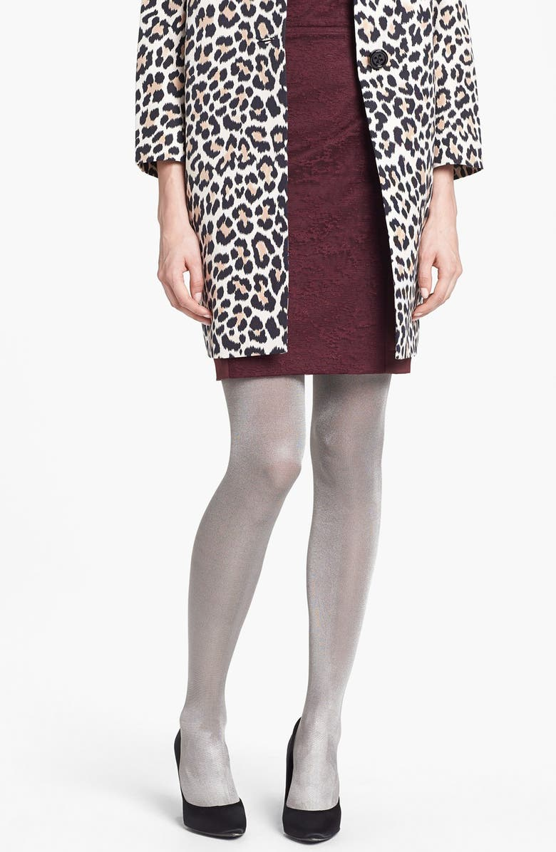 DKNY 'Lacquer' Control Top Tights, Main, color, 040